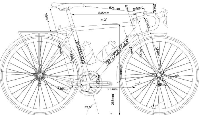 Bicycle ordered