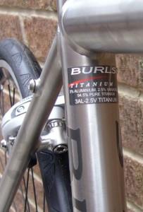 Burls 3AL2.5V Titanium