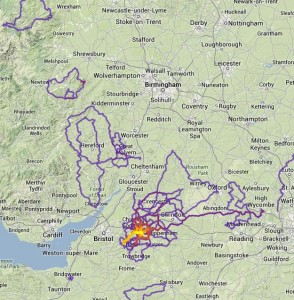 2013 Heat-map