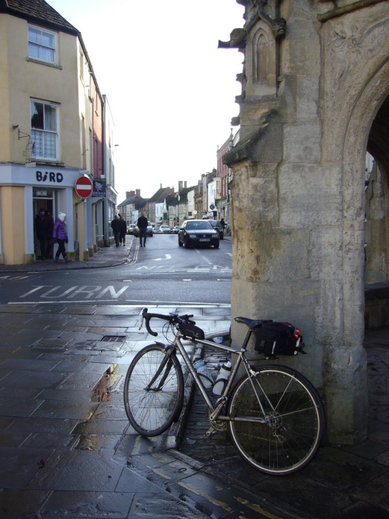 Malmesbury high street.