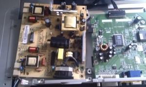 Monitor circuit board