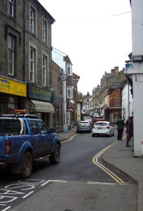 Second control, Builth Wells, where a well-meaning passer-by warned me that my belgian bun had more than 500 calories!