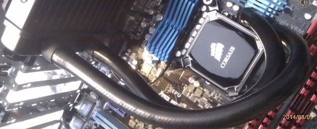 Improving PC cooling with water